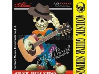 Струны для акустических гитар  Alice A206-SL Super Light c доставкой по России