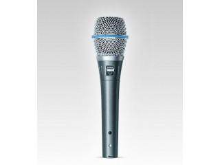 Вокальные микрофоны  SHURE BETA 87A c доставкой по России