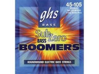 Струны для бас-гитар  GHS STRINGS CR-M3045 SUB-ZEROT BOOMERS c доставкой по России
