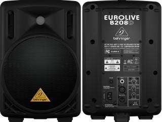 Активные акустические системы  Behringer B208D c доставкой по России