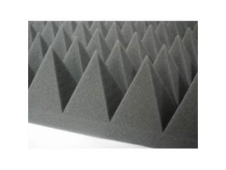 Звукопоглощающие материалы ППУ Акустик Пирамида 50 мм c доставкой по России