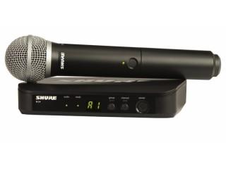 Вокальные радиосистемы  SHURE BLX24E/PG58 M17 662-686 MHz c доставкой по России