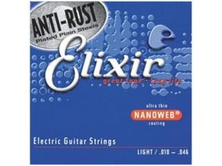 Струны для  электрогитар  Elixir 12052 NanoWeb   c доставкой по России