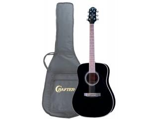 Акустические гитары CRAFTER MD 58/BK + чехол c доставкой по России