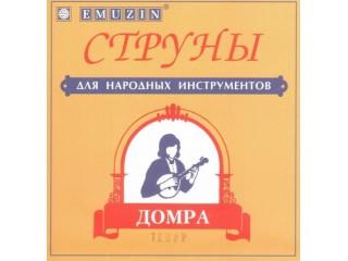 Струны для народных инструментов  EMUZIN Домра тенор  c доставкой по России