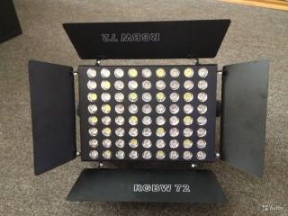 Прожектора и колорченджеры  Sintez lighting RGBW 72 c доставкой по России
