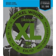 D`ADDARIO EXL117 NICKEL WOUND