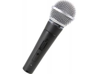 Вокальные микрофоны  SHURE SM58S c доставкой по России