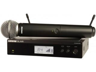 Вокальные радиосистемы  SHURE BLX24RE/PG58 K3E c доставкой по России