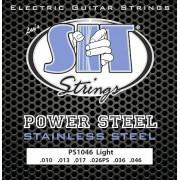 SIT STRINGS PS1052 POWERSTEEL STAINLESS STEEL ELECTRIC HEAVY BOTTOM