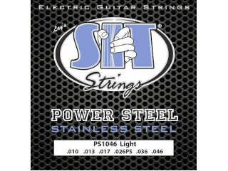 Струны для  электрогитар  SIT STRINGS PS1052 POWERSTEEL STAINLESS STEEL ELECTRIC HEAVY BOTTOM c доставкой по России
