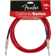 FENDER 10` CALIFORNIA CABLE CANDY APPLE RED