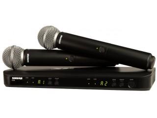 Вокальные радиосистемы  SHURE BLX288E/SM58 K3E c доставкой по России