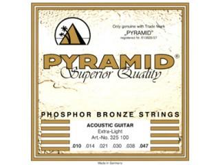 Струны для акустических гитар  Pyramid 326 100 Phosphor Bronze Extra light  c доставкой по России