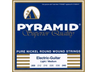 Струны для  электрогитар  Pyramid 401 100 Pure Nikel Round Wound 9-42  c доставкой по России