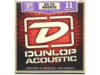 Струны для акустических гитар  Dunlop DAB1152 c доставкой по России