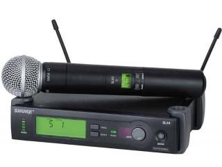 Вокальные радиосистемы  SHURE SLX24E/58 L4E c доставкой по России