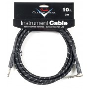 FENDER CUSTOM SHOP 10' INSTRUMENT CABLE BLACK TWEED