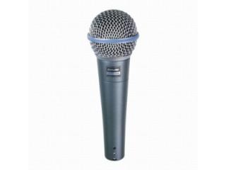 Вокальные микрофоны  SHURE BETA 58A c доставкой по России