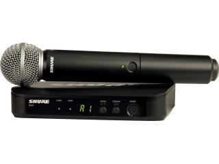 Вокальные радиосистемы  SHURE BLX24E/SM58 M17 c доставкой по России