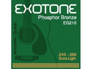 Струны для акустических гитар  EXOTONE EG210  c доставкой по России