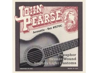 Струны для акустических гитар  John Pearse 570C c доставкой по России