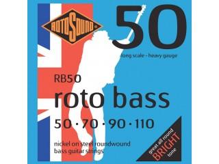 Струны для бас-гитар  ROTOSOUND ROTO BASS RB50  c доставкой по России