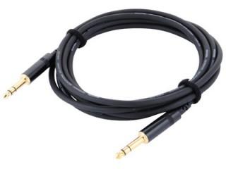 Шнуры джек-джек Инструментальный кабель джек/джек стерео 6,3 мм 2м.  c доставкой по России