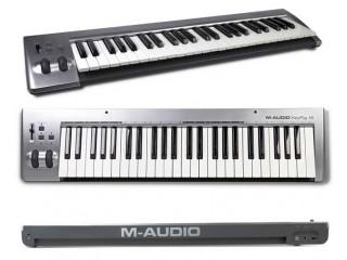 MIDI Клавиатуры  M-Audio KeyRig 49 c доставкой по России