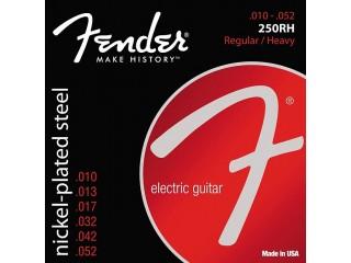 Струны для  электрогитар  FENDER STRINGS NEW SUPER 250RH NPS BALL END 10-52 c доставкой по России