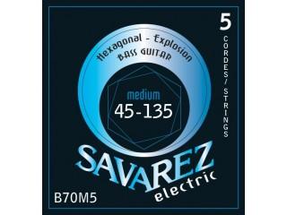 Струны для бас-гитар  Savarez B70M5 c доставкой по России