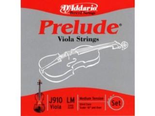 Струны для смычковых  D`ADDARIO J910 XSM viola c доставкой по России