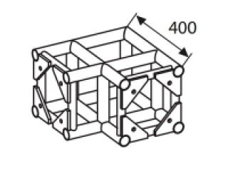 Ферма квадратная Ферма Q4-90 угол  c доставкой по России