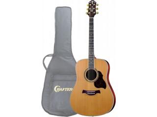Акустические гитары CRAFTER D 7/N + чехол c доставкой по России