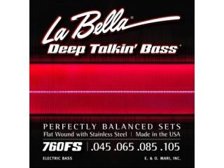 Струны для бас-гитар  La Bella 760FS c доставкой по России