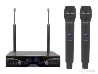 Вокальные радиосистемы  Radiowave UHM-402 c доставкой по России