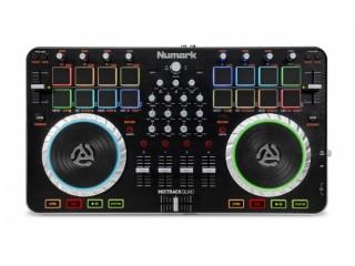 DJ - контроллеры  NUMARK MixTrack Quad, USB  c доставкой по России
