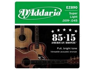 Струны для акустических гитар  D'Addario EZ890 c доставкой по России