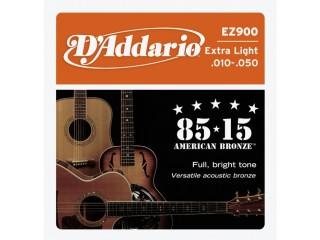 Струны для акустических гитар  D'Addario EZ900 c доставкой по России
