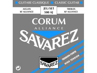 Струны для классических гитар  Savarez 500AJ c доставкой по России