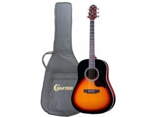 Акустические гитары CRAFTER JM-250/VLS-V + Чехол c доставкой по России