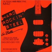 La Bella M42 Hard Rockin' Steel Custom Lights