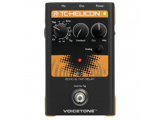 Процессоры эффектов  TC HELICON VoiceTone E1 c доставкой по России