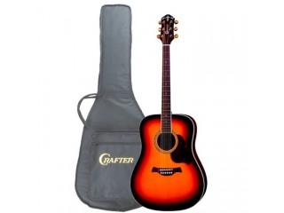 Акустические гитары CRAFTER D 8/TS + чехол c доставкой по России