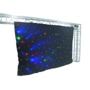 CRT-120LEDs multicol. sound 3x2m