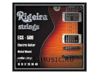 Струны для  электрогитар  RIGEIRA  EGS 500  c доставкой по России