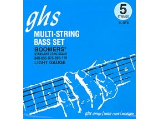 Струны для бас-гитар  GHS STRINGS 5L-DYB BOOMERS c доставкой по России