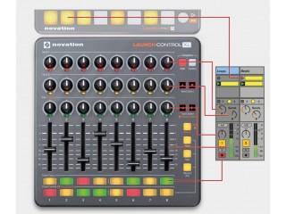 DJ MIDI - контроллеры  NOVATION Launch Control XL c доставкой по России