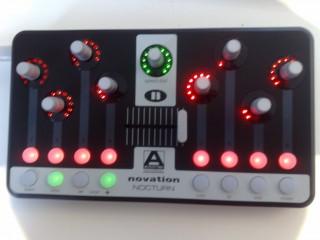 DJ MIDI - контроллеры  Novation Nocturn c доставкой по России