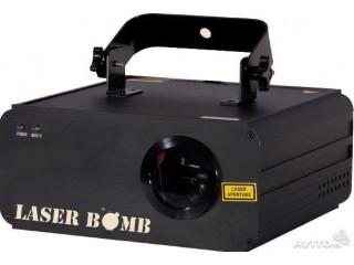Лазерные эффекты  LASER BOMB M6 c доставкой по России